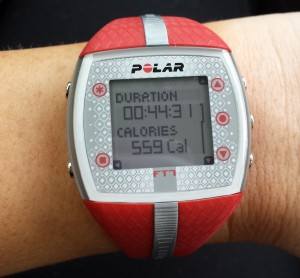 Polar FT7 - calories burned