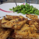 Herb Crusted Baked Tofu