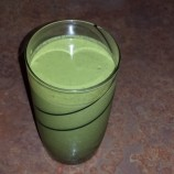 Green Post Workout Recovery Shake