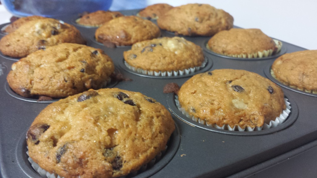Vegan - Banana Chocolate Chip Muffins